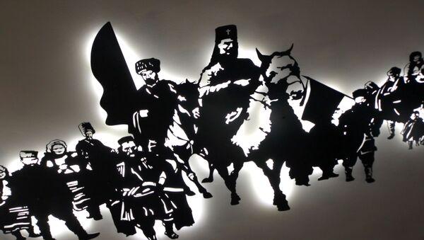 Слика у Музеју присаједињења Војводине - Sputnik Србија