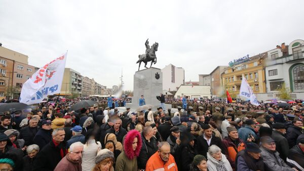 Откривање споменика Краљу Петру Првом - Sputnik Србија