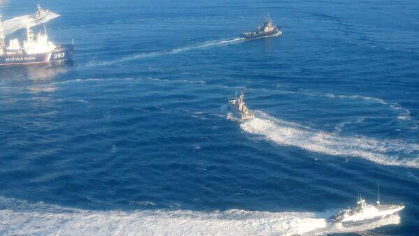 Три украјинска ратна брода која су пресекла руску границу - Sputnik Србија