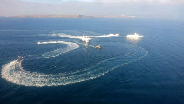 Украјински бродови код Керчког мореуза - Sputnik Србија