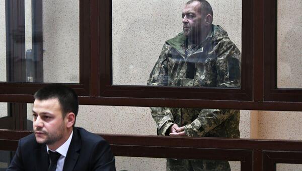 Ukrajinski mornari na sudu u Simferopolju - Sputnik Srbija