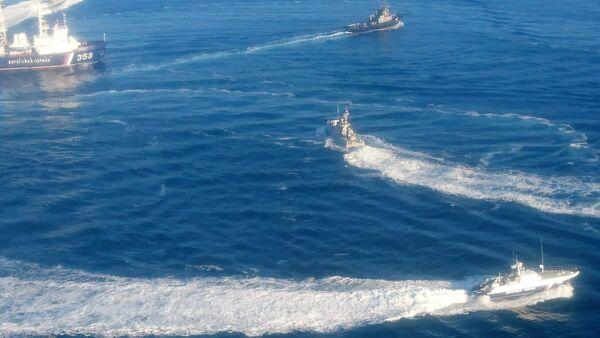 Tri ukrajinska broda na ruskoj granici - Sputnik Srbija