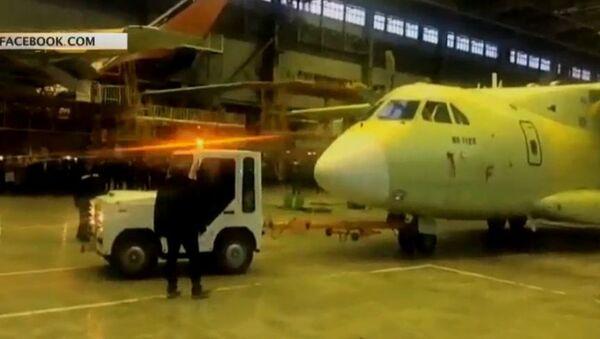 Нови руски транспортни авион Ил-112В - Sputnik Србија
