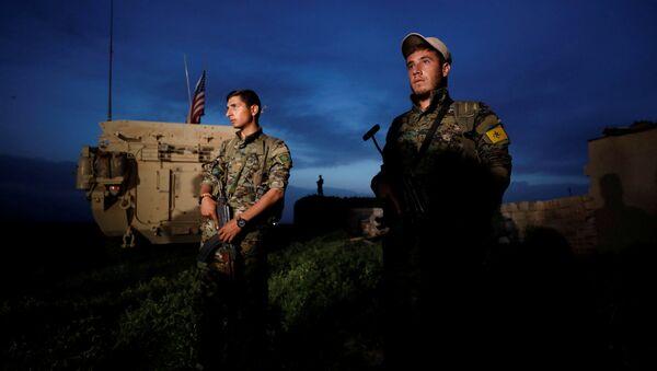 Курдски борци на граници са Турском у Сирији - Sputnik Србија