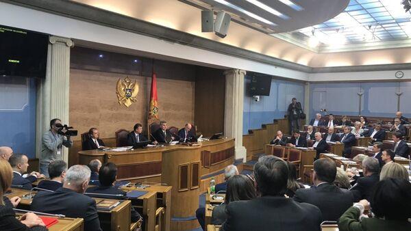 Crnogorski parlament - Sputnik Srbija