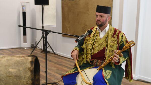 Гусле на отварању спрског културног центра у Пекингу - Sputnik Србија
