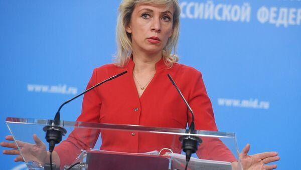 Marija Zaharova - Sputnik Srbija