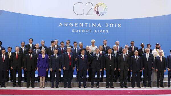 Lideri G20 u Argentini - Sputnik Srbija