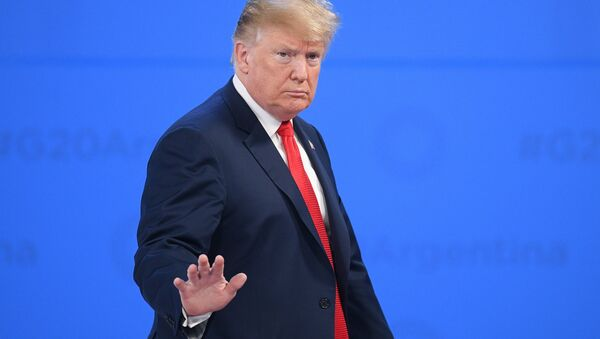 Председник САД Доналд Трамп - Sputnik Србија