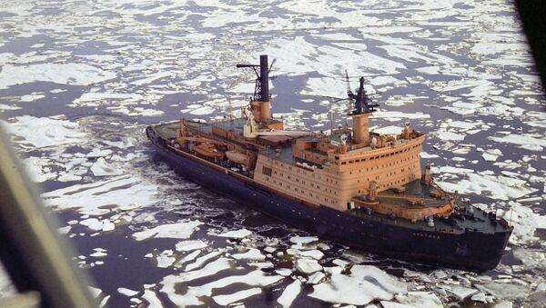 Nuklearni ledolomac Arktik - Sputnik Srbija