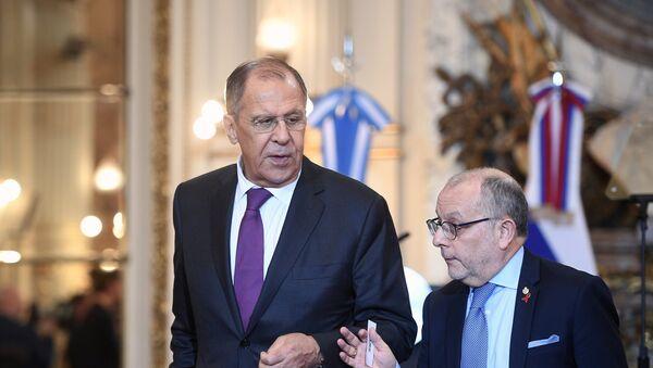 Шеф руске дипломатије Сергеј Лавров - Sputnik Србија