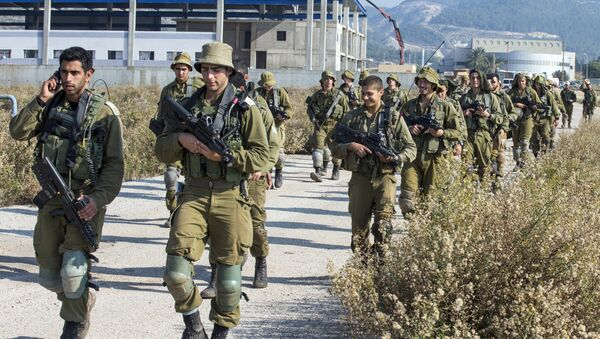Izraelski vojnici patroliraju duž granice sa Libanom - Sputnik Srbija