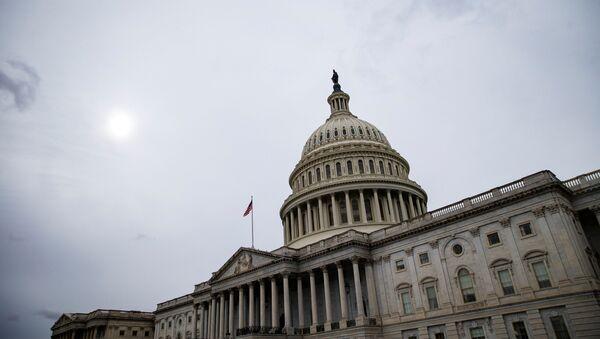Зграда америчког Капитола у Вашингтону - Sputnik Србија