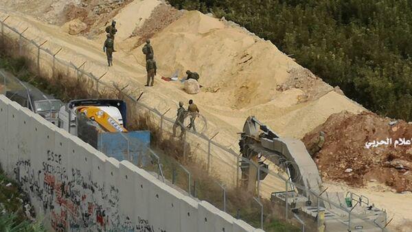 Izraelska vojska iskopava tunel Hezbolaha - Sputnik Srbija