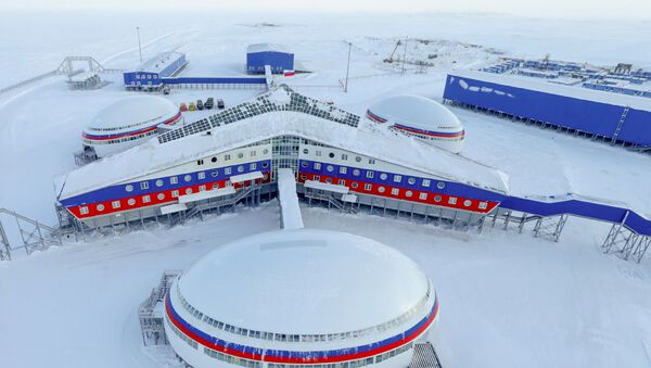 Руска база на Арктику - Sputnik Србија