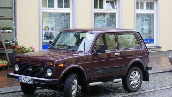 Аутомобил Лада Нива 4х4 - Sputnik Србија