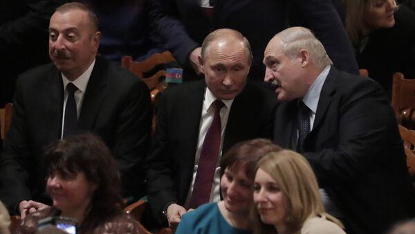 Владимир Путин и Александар Лукашенко - Sputnik Србија