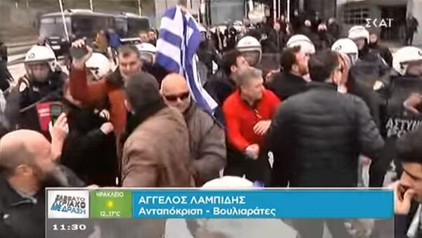 Napeto na granici Grčke i Albanije - Sputnik Srbija
