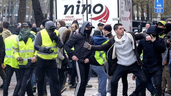 Protesti žutih prsluka u Briselu - Sputnik Srbija