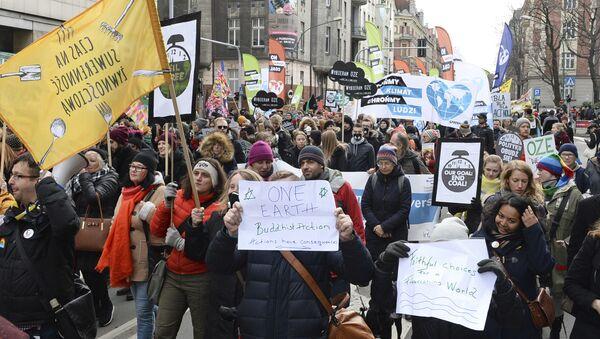 Protest u Katovicama u Poljskoj - Sputnik Srbija