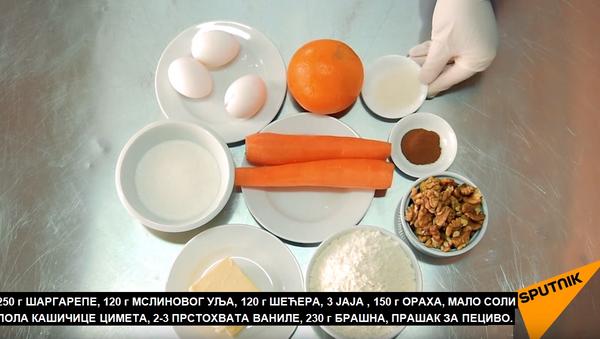 Kolač od šargarepe - Sputnik Srbija