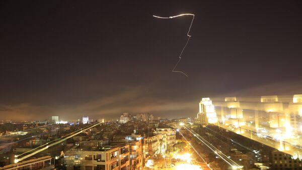 Ракетни напад америчке коалиције на Сирију - Sputnik Србија