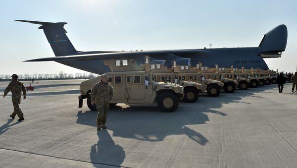 Oklopna vozila hamvi američkih oružanih snaga - Sputnik Srbija