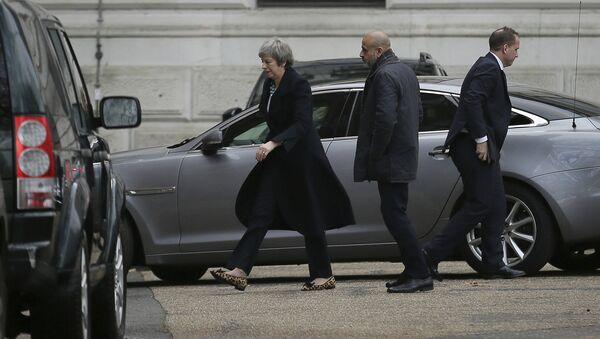 Britanska premijerka Tereza Mej - Sputnik Srbija