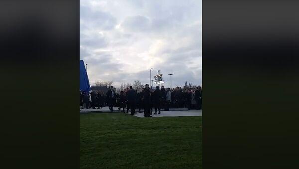 Incident tokom otkrivanja spomenika Franji Tuđmanu - Sputnik Srbija