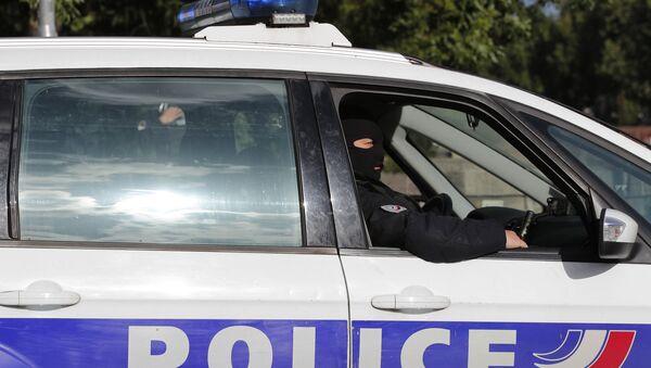 Француско полицијско возило - Sputnik Србија