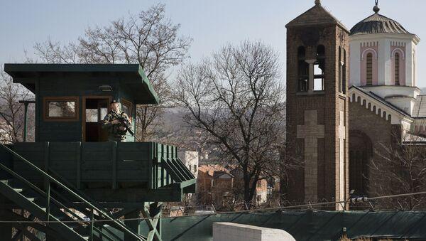 Kosovske bezbednosne snage snimljene u Kosovskoj Mitrovici - Sputnik Srbija