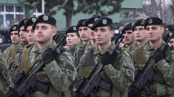 Припадници косовских безбедносних снага на Косову - Sputnik Србија