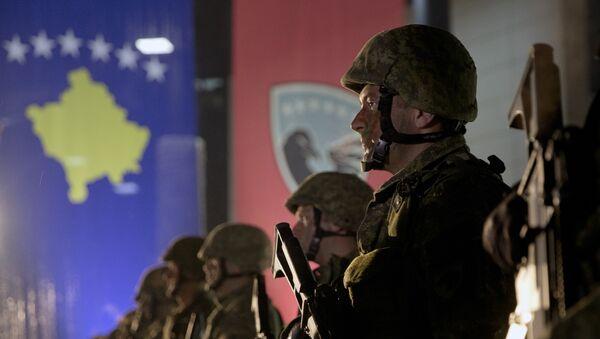 Припадници безбедносних снага самопроглашене републике Косово - Sputnik Србија