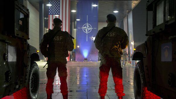 Pripadnici bezbednosnih snaga samoproglašene republike Kosovo - Sputnik Srbija