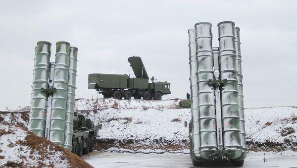 Дивизион С-400 Тријумф на Криму - Sputnik Србија