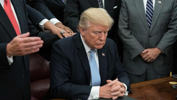 Predsedik SAD Donald Tramp - Sputnik Srbija