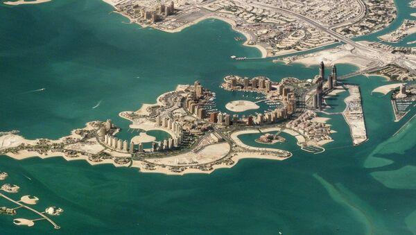 Graciozna ogrlica: ostrvo Biser, Doha, Katar - Sputnik Srbija