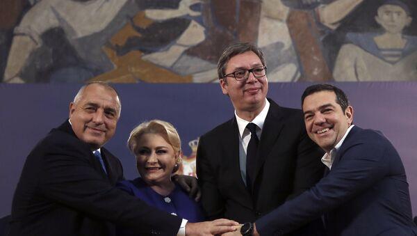 Premijeri Srbije, Grčke, Bugarske i Rumunije - Sputnik Srbija