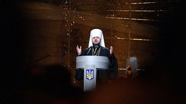 Poglavar nove crkve u Ukrajini Epifanij Dumenko - Sputnik Srbija