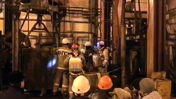 Спасилачке екипе у руднику Соликамск у Пермској области - Sputnik Србија