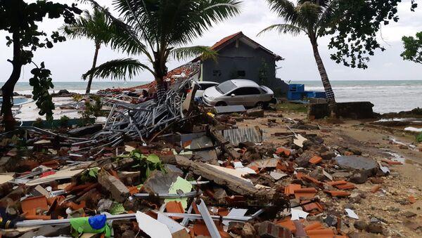 Последице цунамија у Индонезији - Sputnik Србија