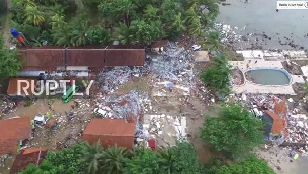 Snimak Indonezije iz drona - Sputnik Srbija