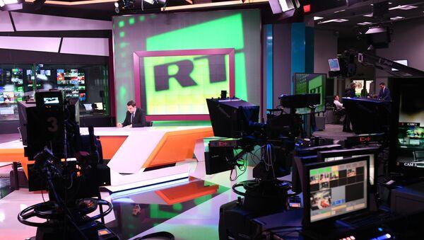 Studio televizije RT u Moskvi - Sputnik Srbija