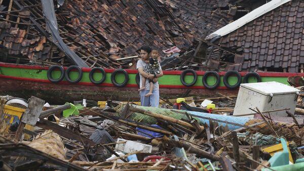 Indonezija, cunami - Sputnik Srbija