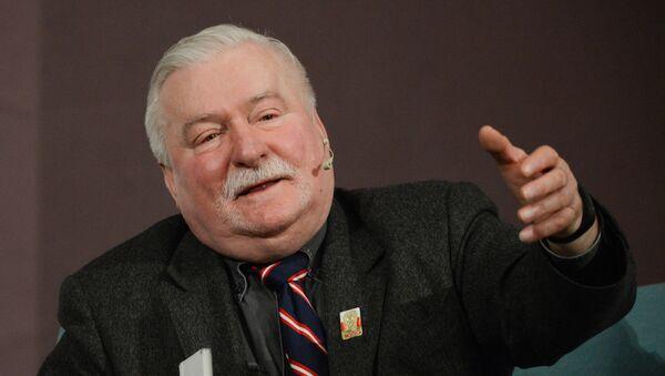 Bivši predsednik Poljske Leh Valensa - Sputnik Srbija