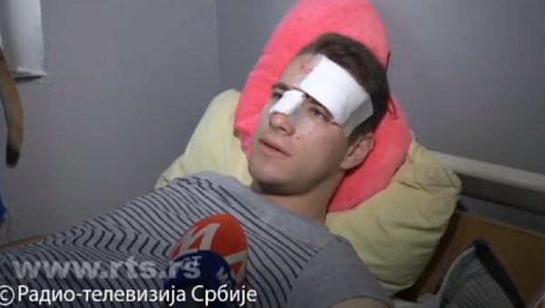 Učenik povređen u udesu u Gračanici - Sputnik Srbija
