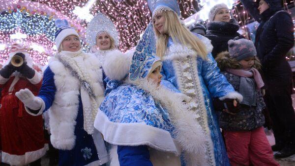 Парада Снежних Краљица у Москви - Sputnik Србија