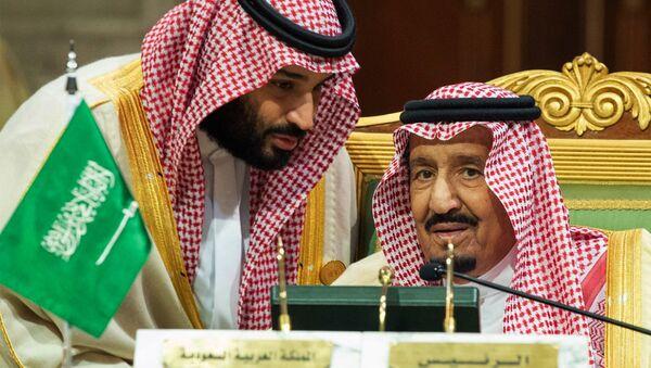 Muhamed bin Salman i kralj Salman - Sputnik Srbija