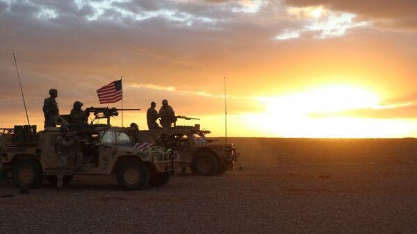 Pripadnici 5. grupe specijalnih snaga američke vojske tokom operacije protiv DAEŠ-a u južnoj Siriji - Sputnik Srbija
