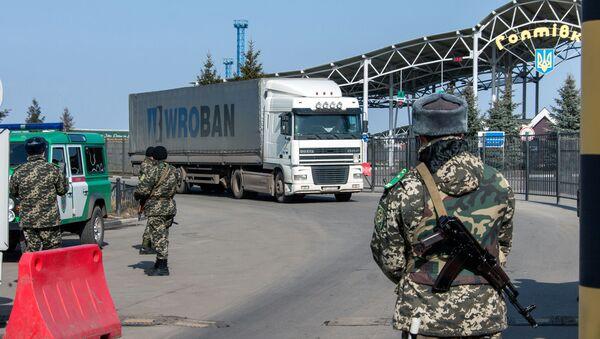 Granični prelaz Goptovka na rusko-ukrajinskoj granici - Sputnik Srbija